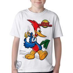 Camiseta Infantil Pica Pau 1940