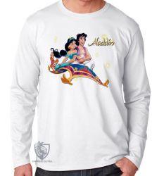 Camiseta Manga Longa Alladin