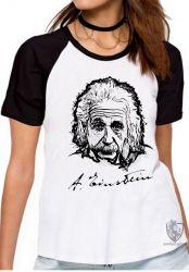 Blusa Feminina  Albert Einstein rosto