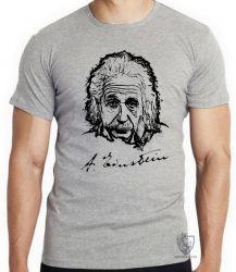 Camiseta Albert Einstein rosto