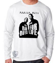 Camiseta Manga Longa Bad Boys for life