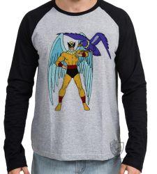 Camiseta Manga Longa Hanna Barbera Birdman