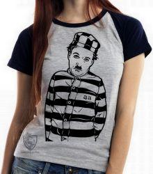 Blusa Feminina Charles Chaplin preso