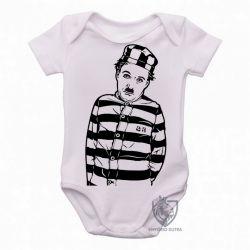 Roupa Bebê Charles Chaplin preso