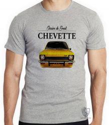 Camiseta Chevette amarelo