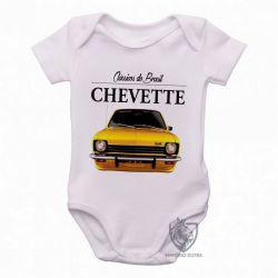 Roupa  Bebê Chevette amarelo