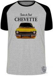 Camiseta Raglan Chevette amarelo
