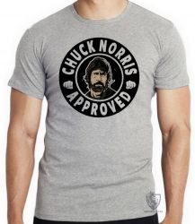 Camiseta Chuck Norris approved