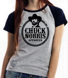 Blusa Feminina Chuck Norris Caubói