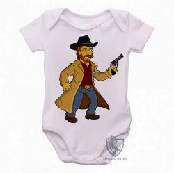 Roupa Bebê Chuck Norris Simpsons