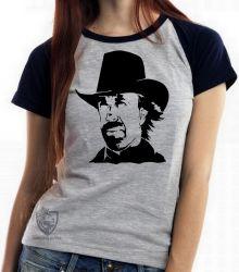 Blusa Feminina Chuck Norris Texas Ranger