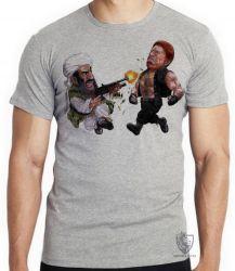 Camiseta Chuck Norris vs Bin Laden