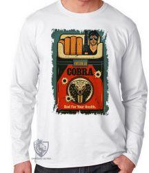 Camiseta Manga Longa Cigarro Cobra