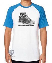 Camiseta Raglan  Clássico nunca morre