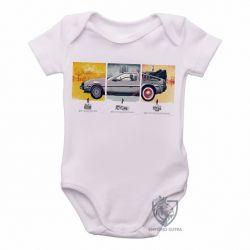 Roupa  Bebê De volta para o futuro DeLorean em quadros