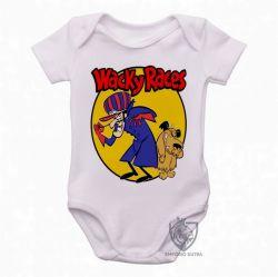 Roupa  Bebê  Dick Vigarista Mutley amarelo