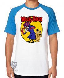 Camiseta Raglan Dick Vigarista Mutley amarelo