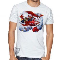 Camiseta Dick Vigarista Pegue o pombo
