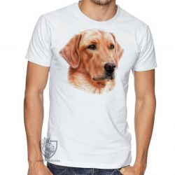Camiseta  Golden Retriever face