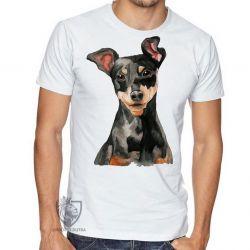 Camiseta Pinscher orelhas