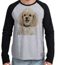 Camiseta Manga Longa Poodle