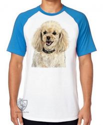 Camiseta Raglan Poodle