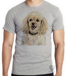 Camiseta Infantil Poodle