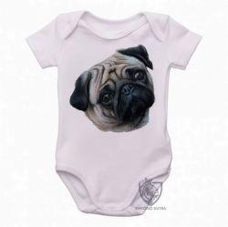 Roupa Bebê Pug perfil