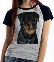 Blusa Feminina Rottweiler sério