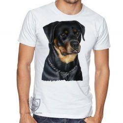 Camiseta Rottweiler sério