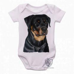 Roupa Bebê Rottweiler sério