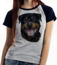 Blusa Feminina Rottweiler  língua