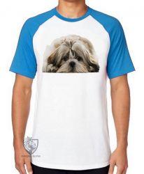 Camiseta Raglan Shih-tzu