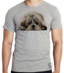 Camiseta Infantil Shih-tzu
