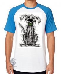 Camiseta Raglan Viralata