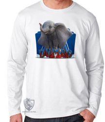 Camiseta Manga Longa Dumbo