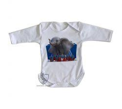 Roupa Bebê manga longa  Dumbo