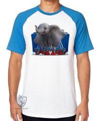 Camiseta Raglan Dumbo