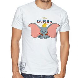 Camiseta  Dumbo desenho