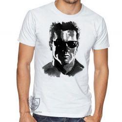 Camiseta Exterminador do Futuro pintura