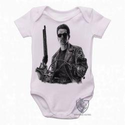 Roupa  Bebê Exterminador do Futuro moto
