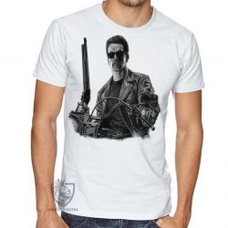 Camiseta Exterminador do Futuro moto