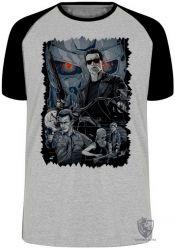 Camiseta Raglan Exterminador do Futuro II