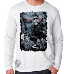 Camiseta Manga Longa Exterminador do Futuro II