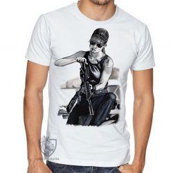 Camiseta Exterminador do Futuro Sarah Connor