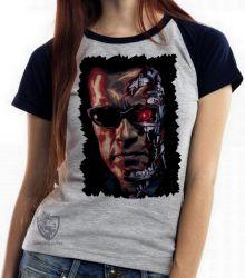 Blusa Feminina Exterminador do Futuro máquinas
