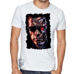 Camiseta Exterminador do Futuro máquinas