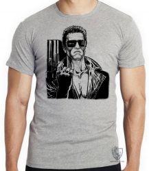 Camiseta Exterminador do Futuro arma