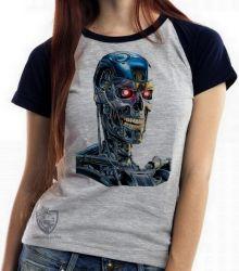 Blusa Feminina Exterminador do Futuro T800