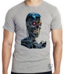 Camiseta Exterminador do Futuro T800